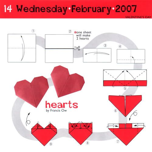something i do for v day or just because write a note poem or rh pinterest ca origami heart instructions origami instructions heart envelope