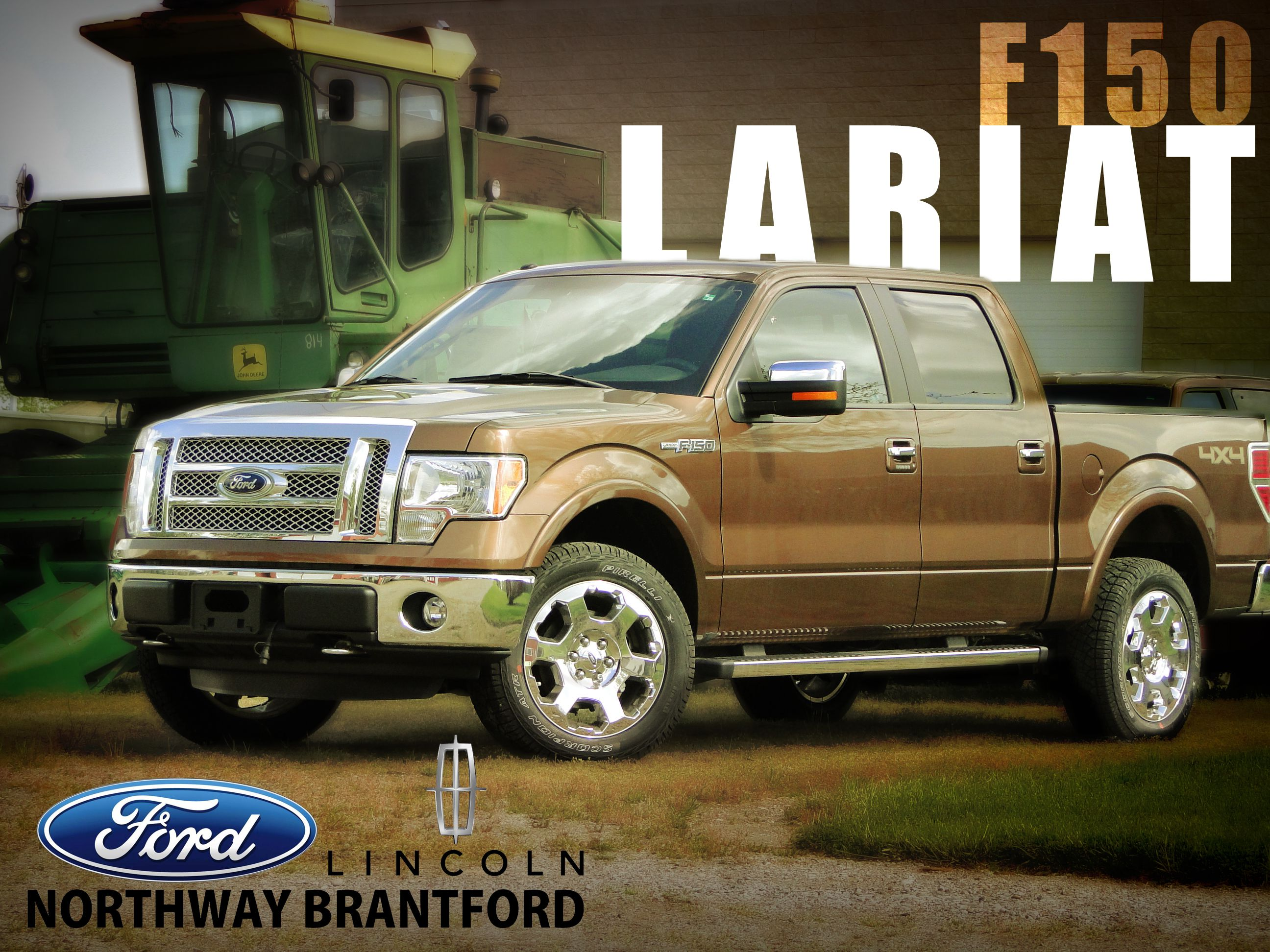 The 2012 Ford F150 Lariat Being Put To Work On Farm