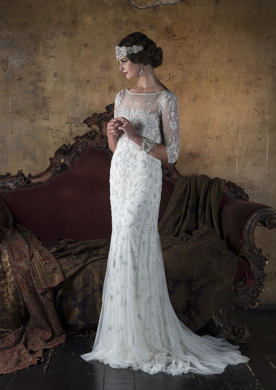 Eliza Jane Howell Deco Wedding Dress Art Deco Wedding Dress Wedding Dresses Lace