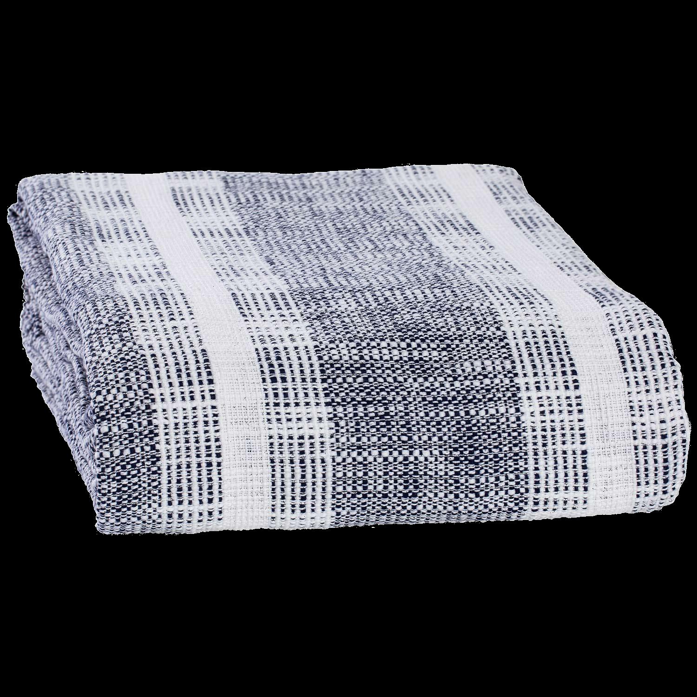 Niccan Indigo Blanket Indigo blanket, White sheet set