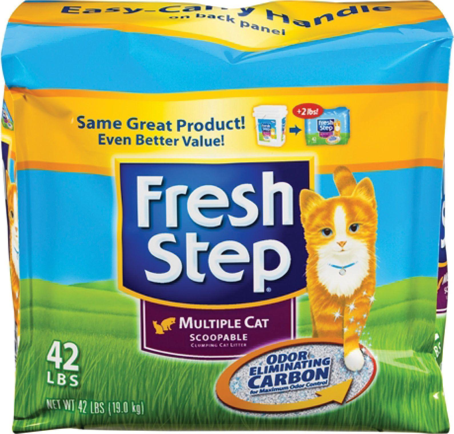 Cats Fresh Step Multicat Clumping Litter By Clorox