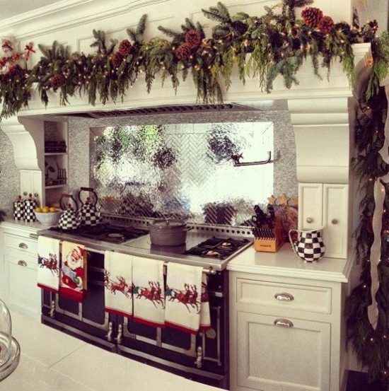 4 Brilliant Kitchen Decorating Ideas For This Year\u0027s Christmas