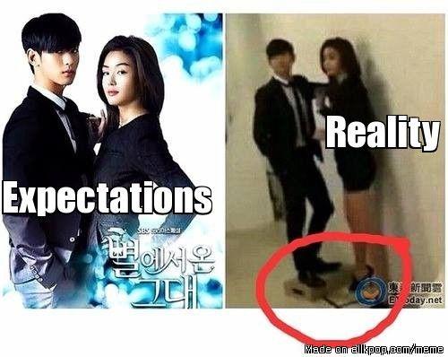 Reality Vs Expectations Allkpop Meme Center Kdrama Memes Korean Drama Funny Drama Memes