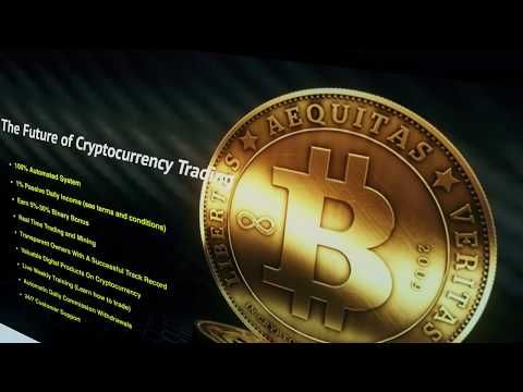 Cryptocurrency lead capture page