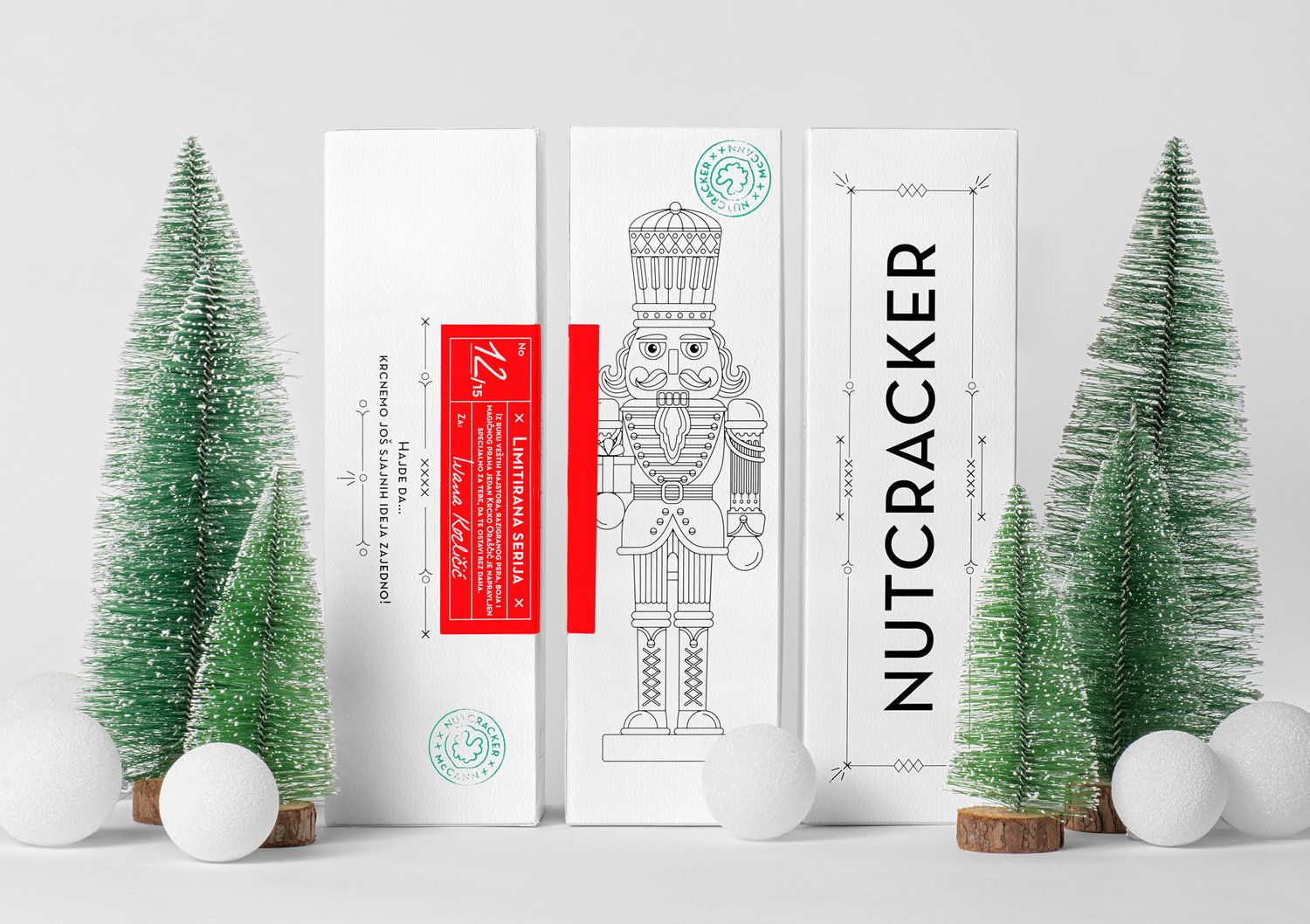 Check Out The Packaging For These Adorable Holiday Gifts Handmade Personalized Gifts Holiday Packaging Design Christmas Packaging