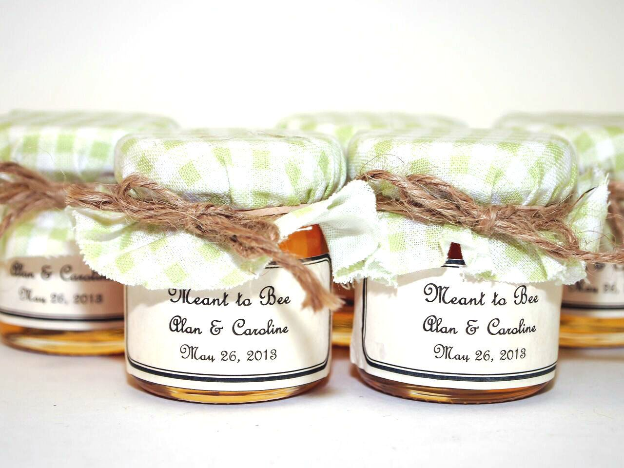 SALE 15% Sale Ends Sunday 75 Small Mason Jar Honey Wedding Favors ...