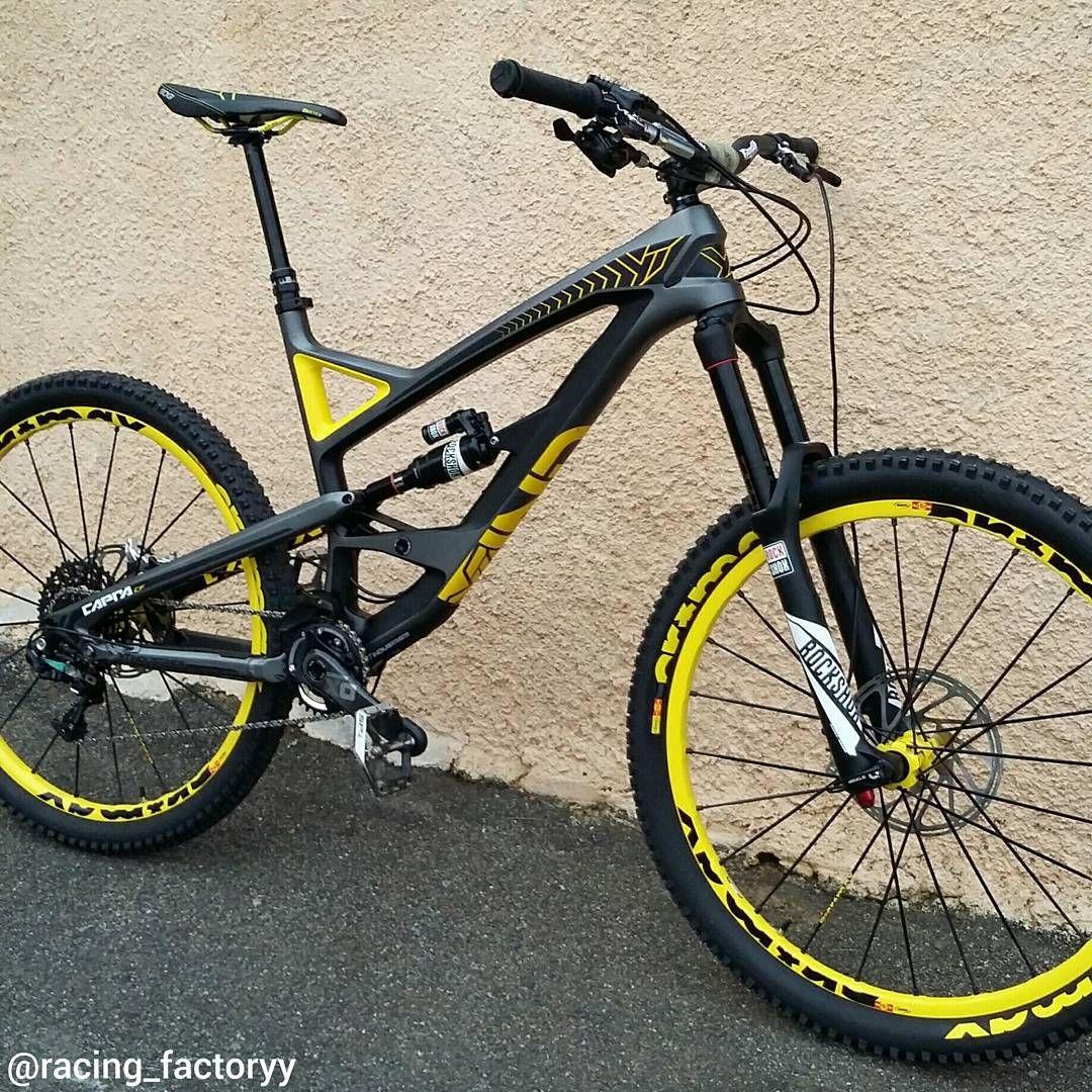 Sweet Black Yt Capra Of Mathispaulet Downhill Mtb Bikeporn