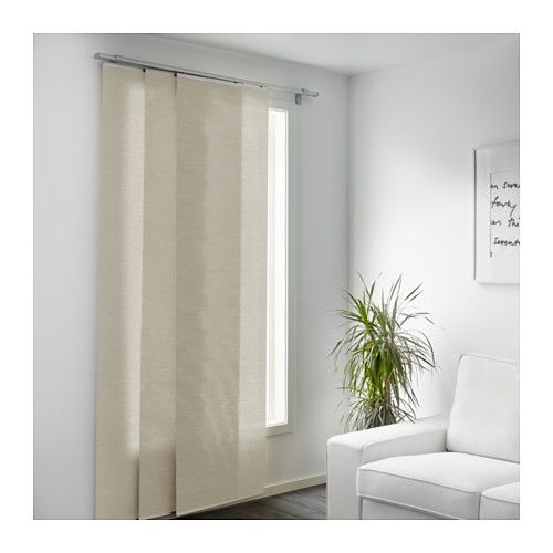 Anno Sanela Panel Curtain Beige Ikea For The Home Pinterest