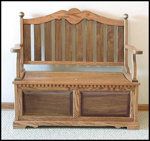 Deacon Bench With Storage Cedar Lined Storage Area 49 Memorial Benches Wooden Bench Solid Wood Benches