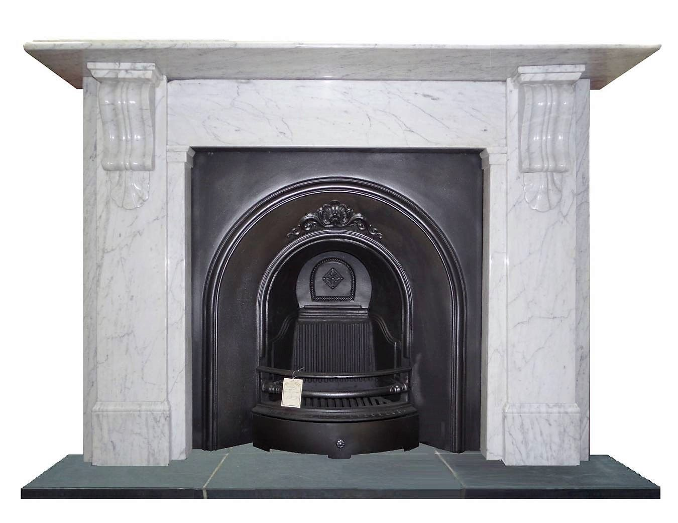 Antique Large Victorian Carrara Marble Chimney Piece Antique Fireplace Mantels Carrara Marble Victorian Fireplace