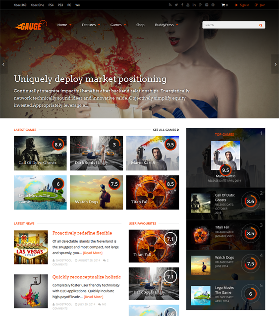 The WordPress theme for review sites offers WPML, bbPress ...