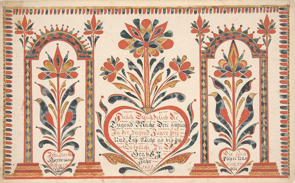 Flee From Sin Fleuch Von Sunde Scandinavian Folk Art Text Based Art Folk Art Painting