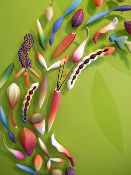 by Jeffery Lloyd Dever~ His work is full of perfect colour blends and smooth shapes-