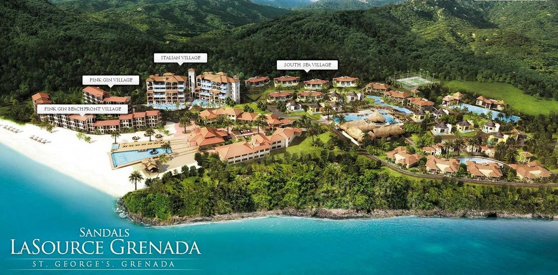 Grenada Lasource Edhy2w9i Sandals Weddinghoneymoon Destination Aq354RjL