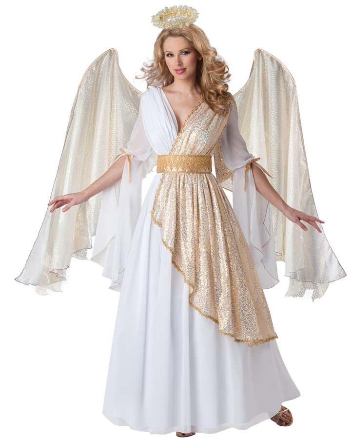 Heavenly Angel Womens Costume FANCY DRESS Pinterest Heavenly - angel halloween costume ideas