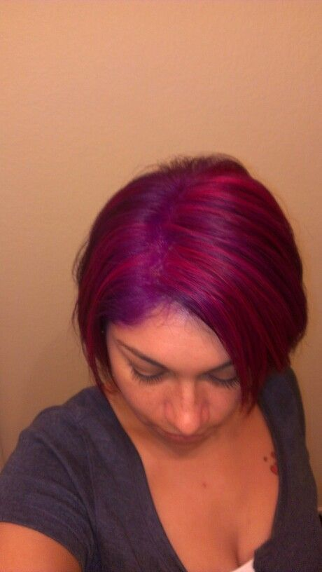 Pravana Vivid Violet With Wild Orchid And Magenta Highlights