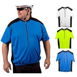 For H Big Man S Colossal Cycling Bike Jersey W Back Pockets