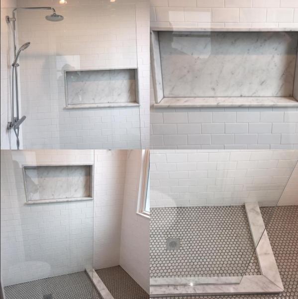 Bathroom Renovation Jersey City bathroom renovation #bathroom #renovation #subwaytile