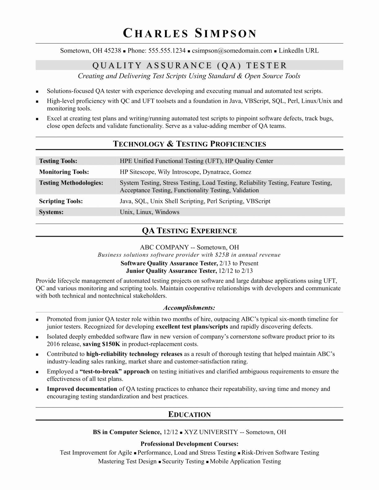 Quality Management System Manual Template In 2020 Job Resume