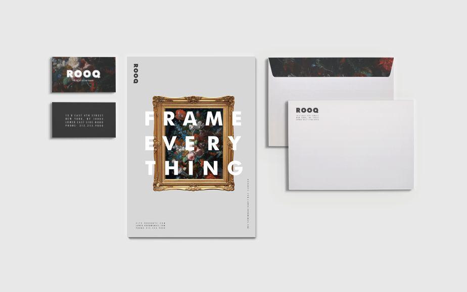 Rooq Fine Art Custom Framing On Behance