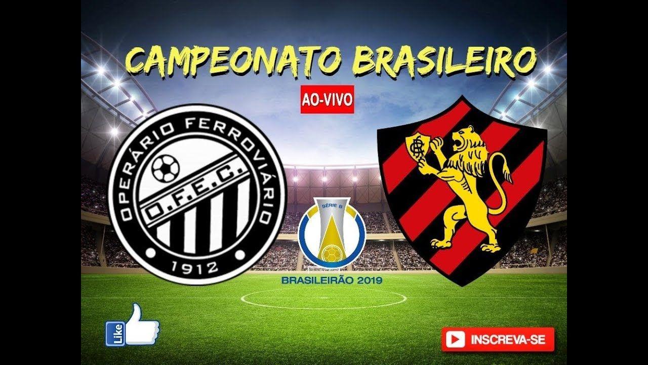 OPERÁRIOPR X SPORT AO VIVO SÉRIE B DO BRASILEIRO 2805