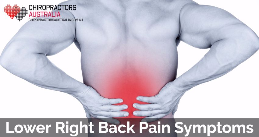 Lower Right Back Pain Symptoms