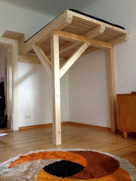 Pin Von I Kolga Auf Home Diy Bett The Loft Und Schlafzimmer Design