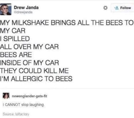 13 Funny Tweets All About Bees