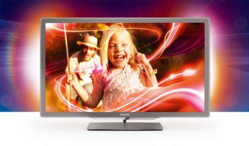 Philips 32pfl7406k 02 81 Cm 32 Zoll Ambilight Led Backlight Fernseher Energieeffizienzklasse A Full Hd 400 Hz Pmr Dvb T C S2 Led Tv Smart Tv Philips