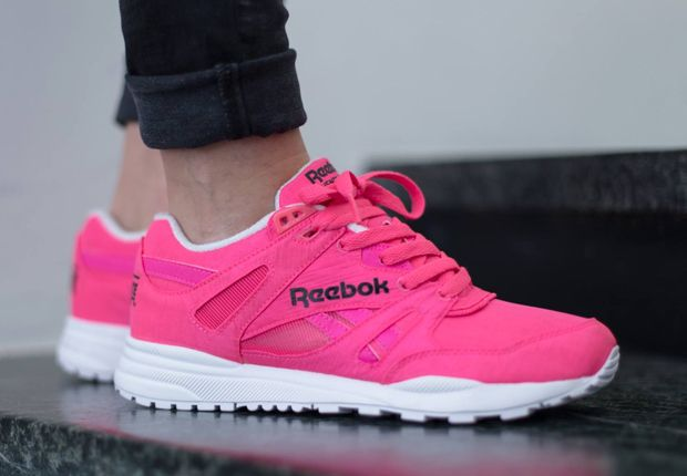 87e97c6580c02a Need some new neon pink sneakers  Reebok Classic has got you covered with a  blazing