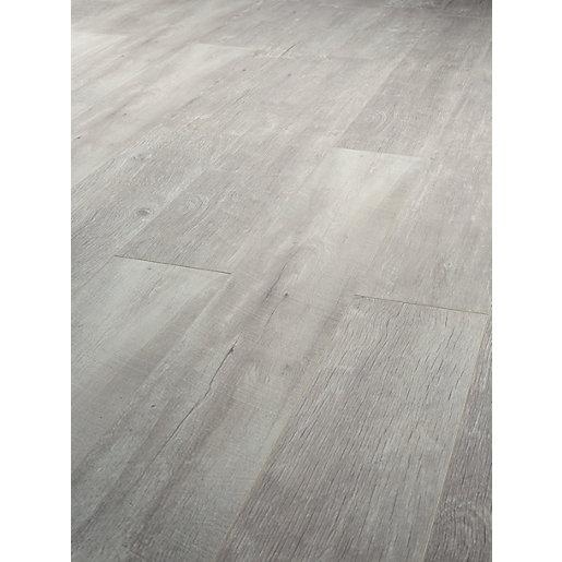 Wickes Salerno Oak Grey Laminate Flooring 2.22m2 Pack in