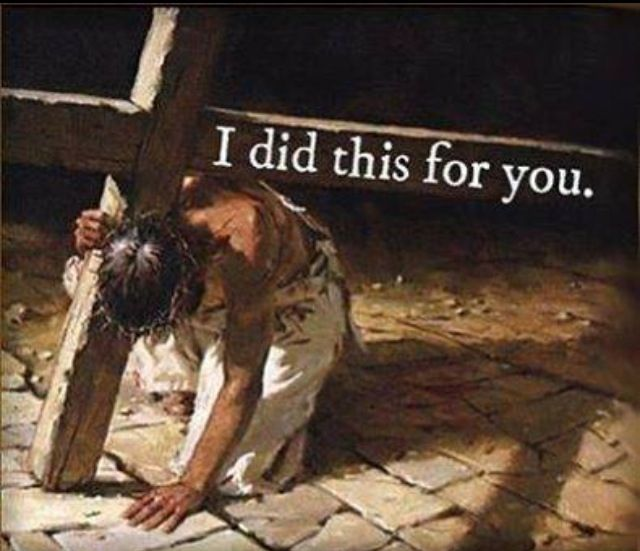 Yes.... He did it for little oh you...Amen