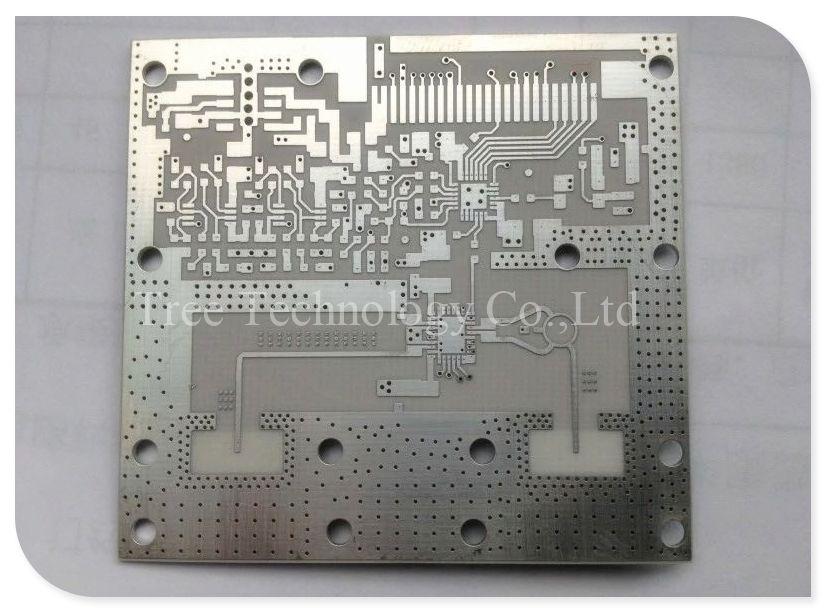 Ceramic Pcb 1 0mm Alumina Double Layers Ag Palladium Pth Npth Circuit Board Pcb Board Custom
