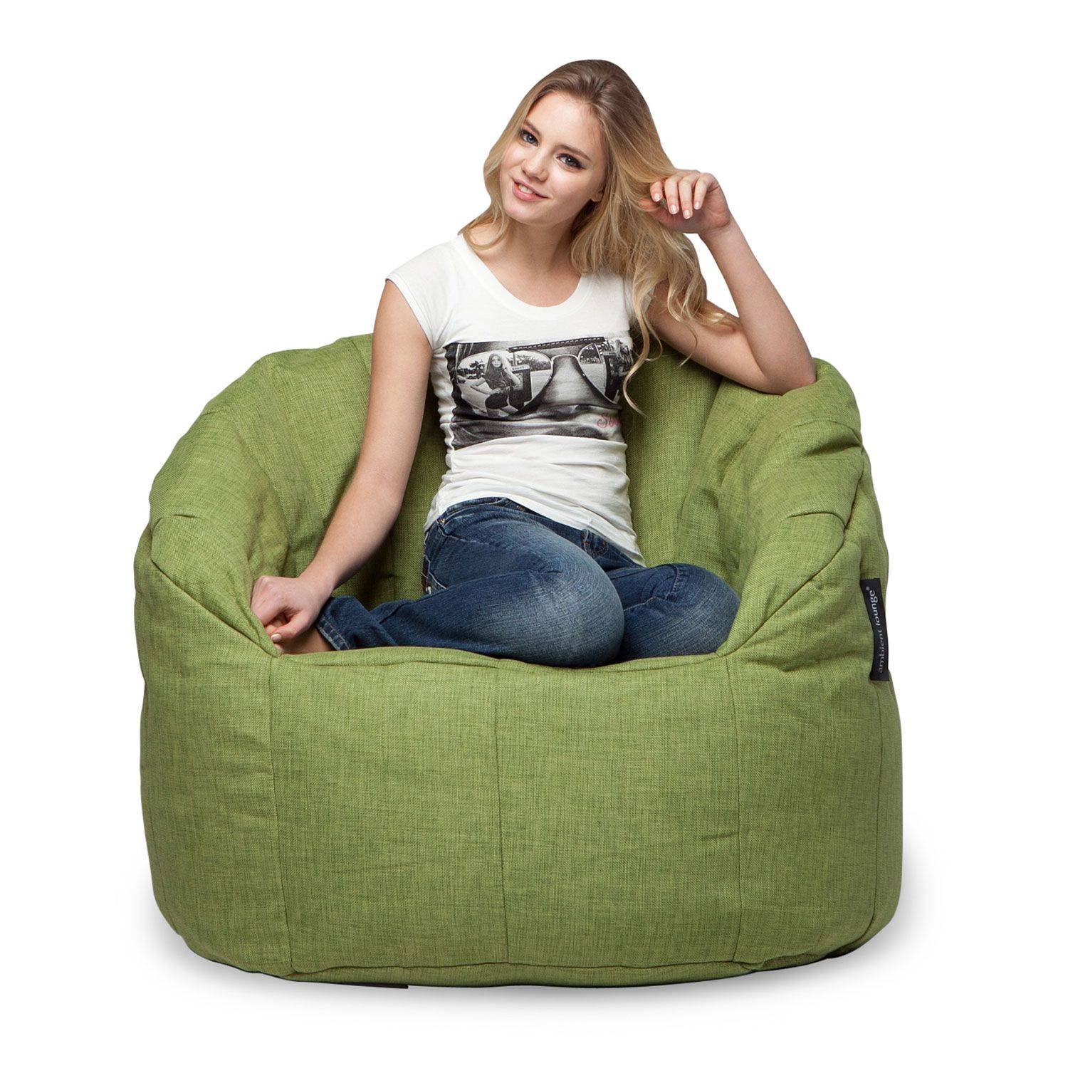Butterfly Tundra Spring By Ambient Lounge Bean Bag Sofa