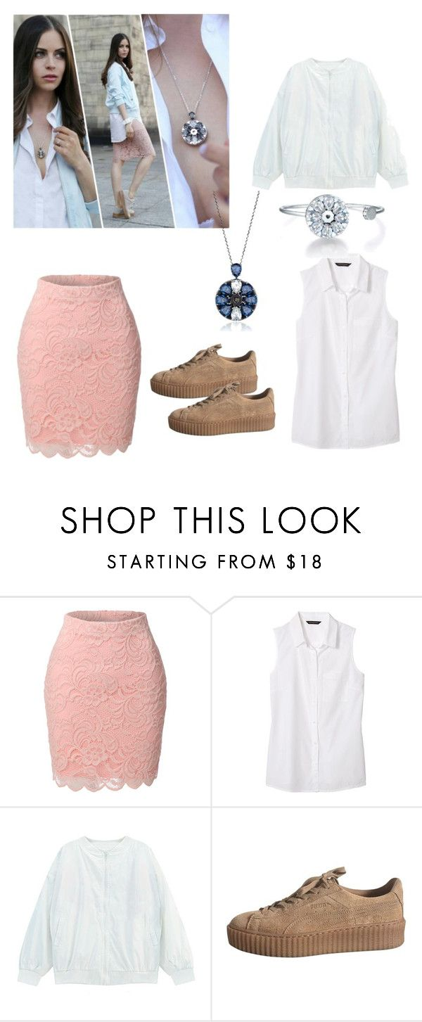 """Sin título #127"" by karlamichell ❤ liked on Polyvore featuring LE3NO, Banana Republic and Chicnova Fashion"