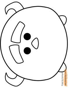 tsum tsum coloring pages 2 - Coloring Activities 2