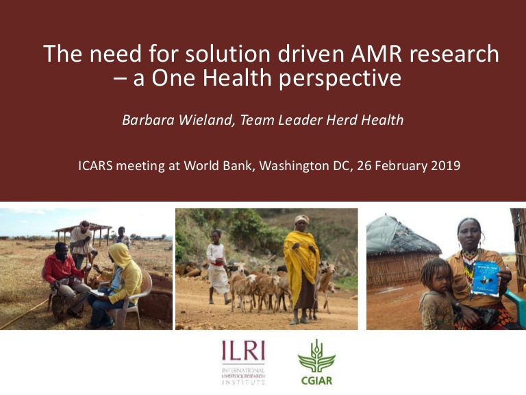 Barbara Wieland 26 Feb 2019 ICARS Meeting, World Bank