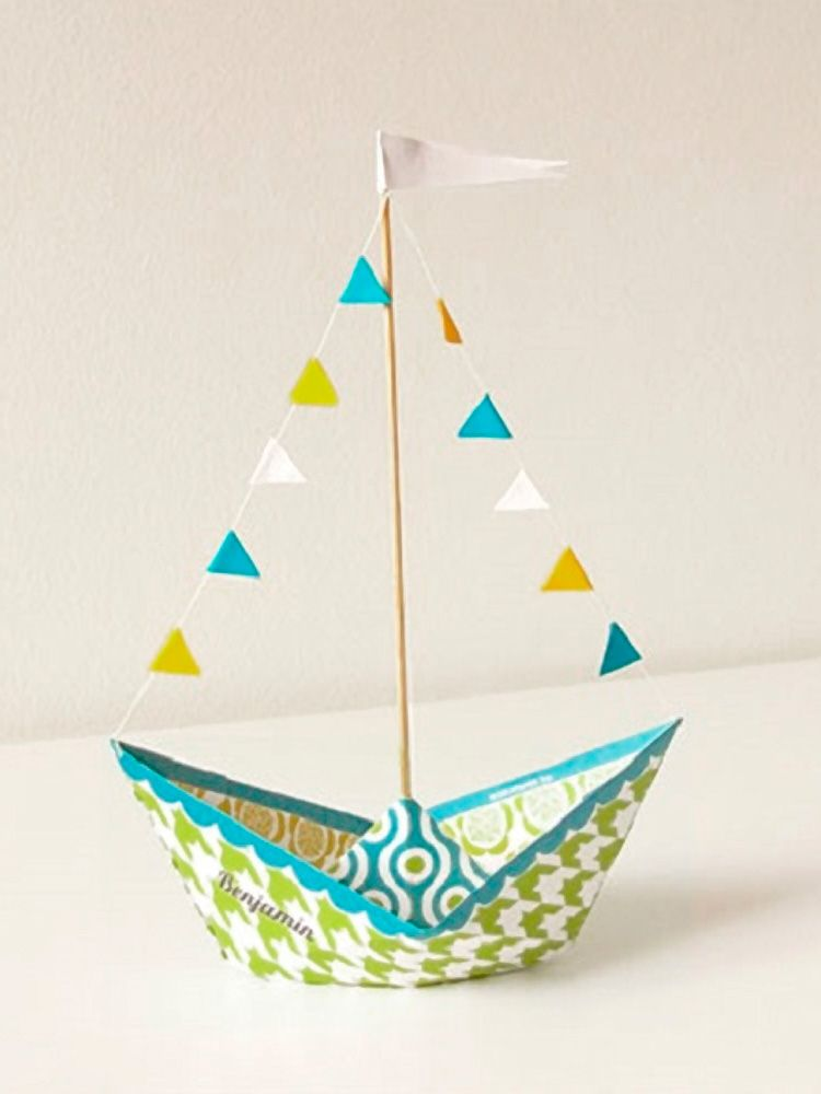 d coration et bricolage tutoriels diy diy kids teens pinterest bateaux en papier. Black Bedroom Furniture Sets. Home Design Ideas