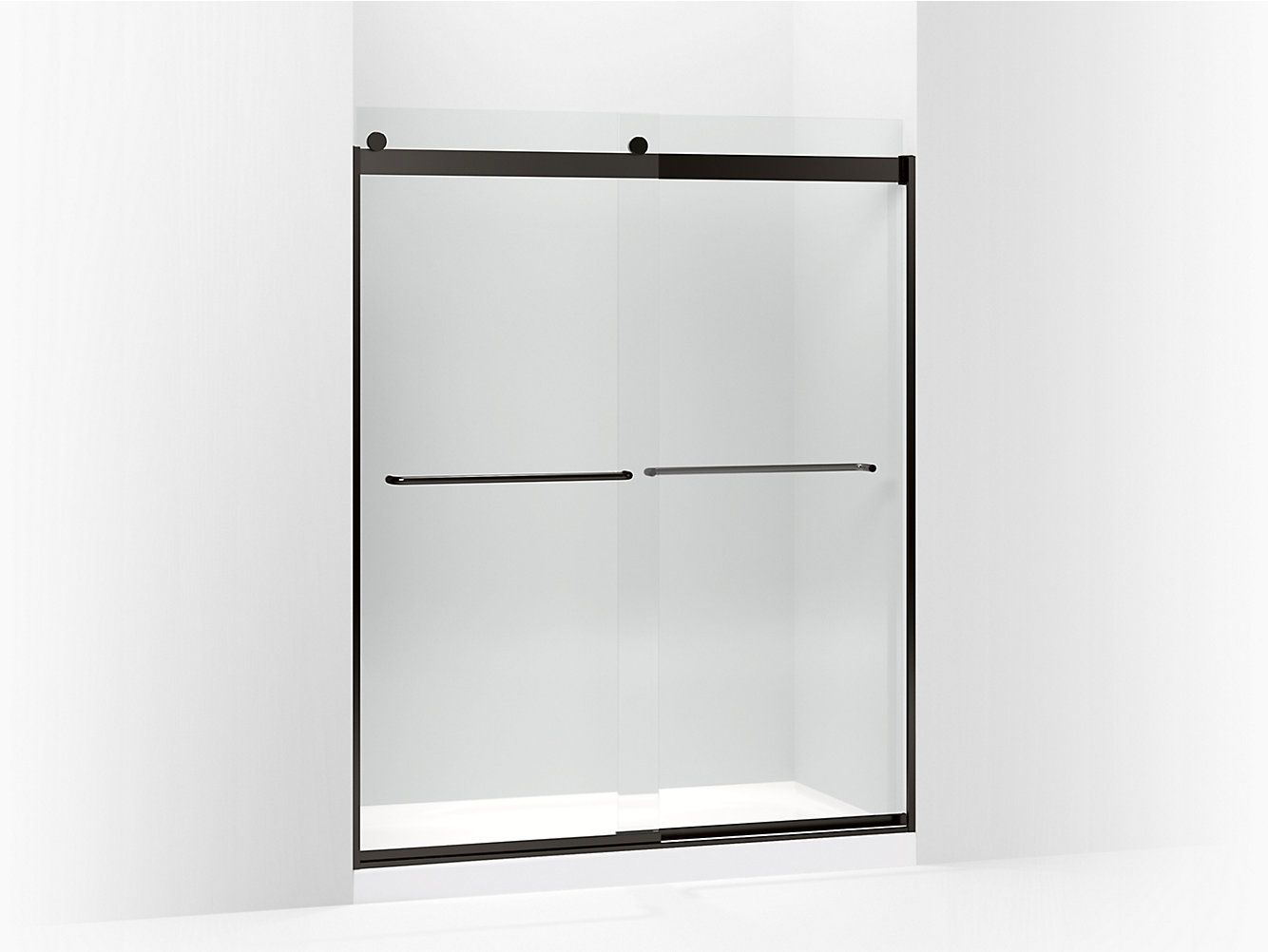 K 706015 L Levity Frameless Sliding Shower Door Kohler With