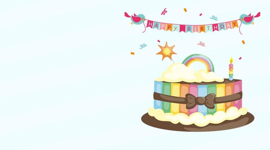 حفلة عيد ميلاد خلفية زرقاء جديدة الرياح Birthday Party Cake Birthday Party Celebration Birthday Party Background