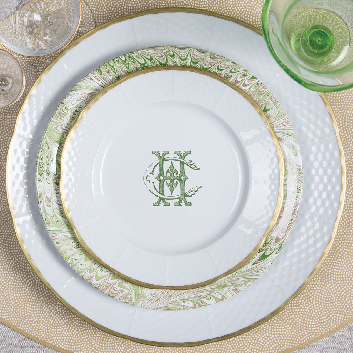 Custom design services - offering custom monogrammed dinnerware with your custom monogram. Sasha Nicholas also offers custom monogram crest and heraldry ... & Custom 2 Letter Monogram Design Services | Design services Custom ...