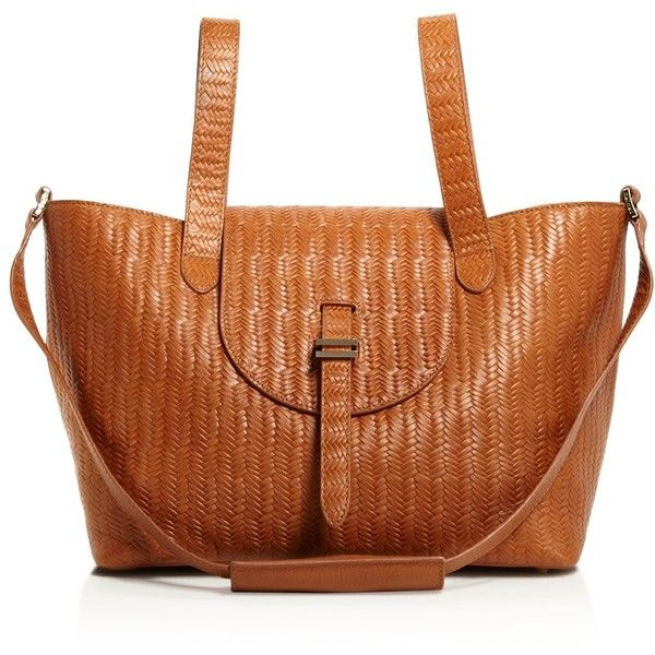 95bf6c0976c1 meli melo Thela Medium Weave Tote ( 765) ❤ liked on Polyvore featuring bags