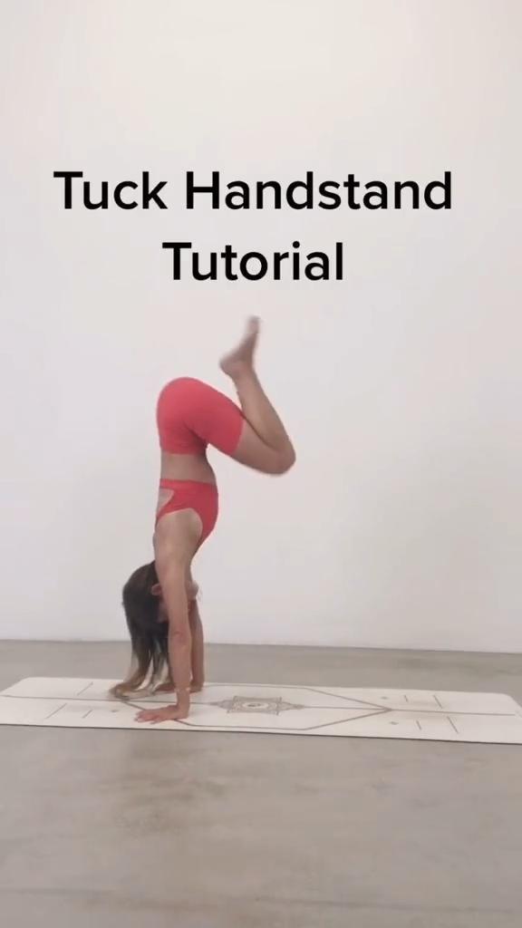 Tuck handstand tutorial