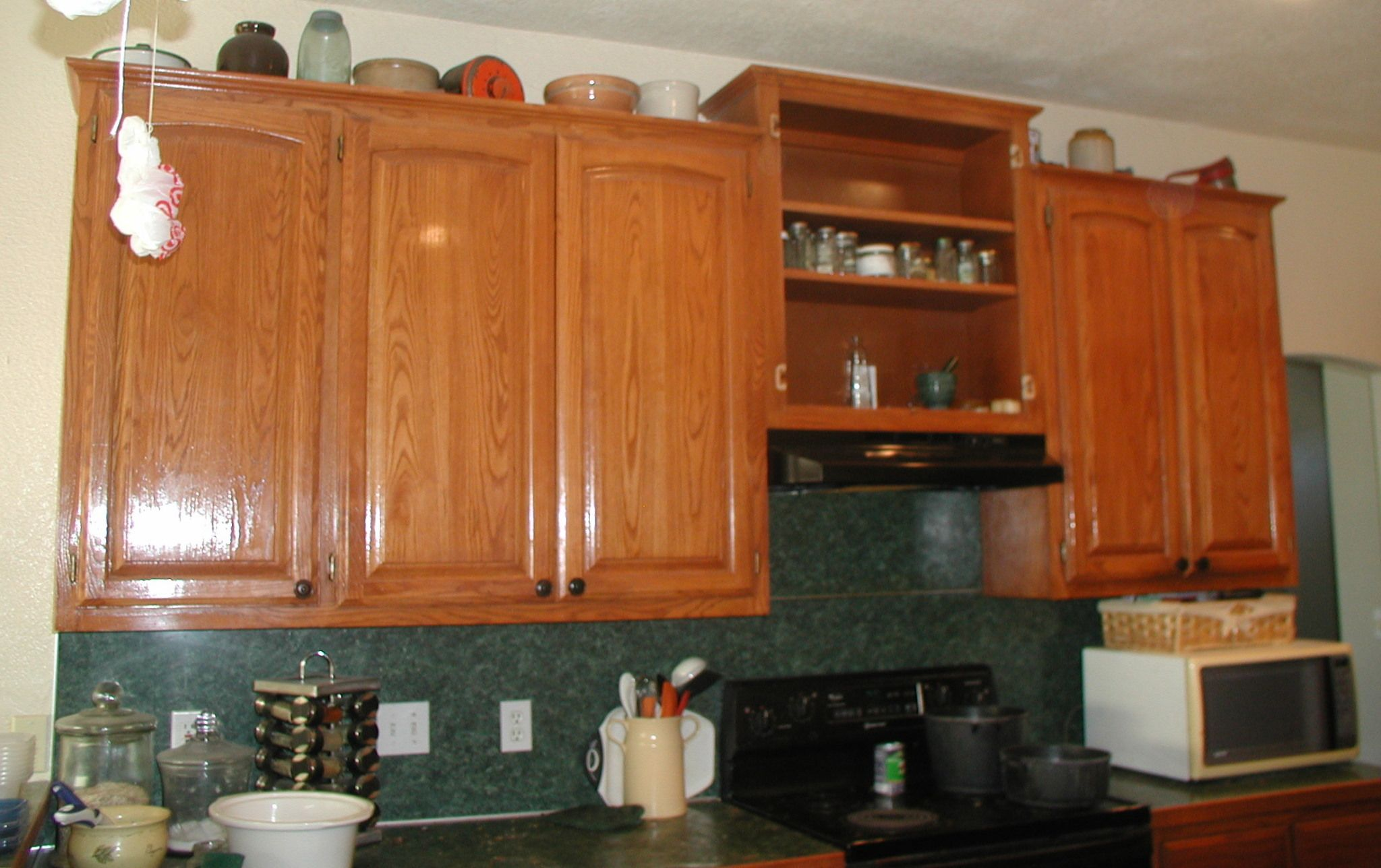 Project Making An Upper Wall Cabinet Taller Kitchen Upper Kitchen Cabinets Kitchen Cabinets Height Kitchen Soffit
