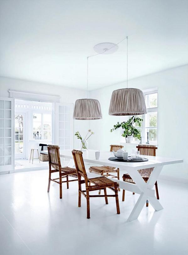 Salle manger pur e deco du n rd d coration maison d co maison et mobilier de salon for Mobilier decoration maison