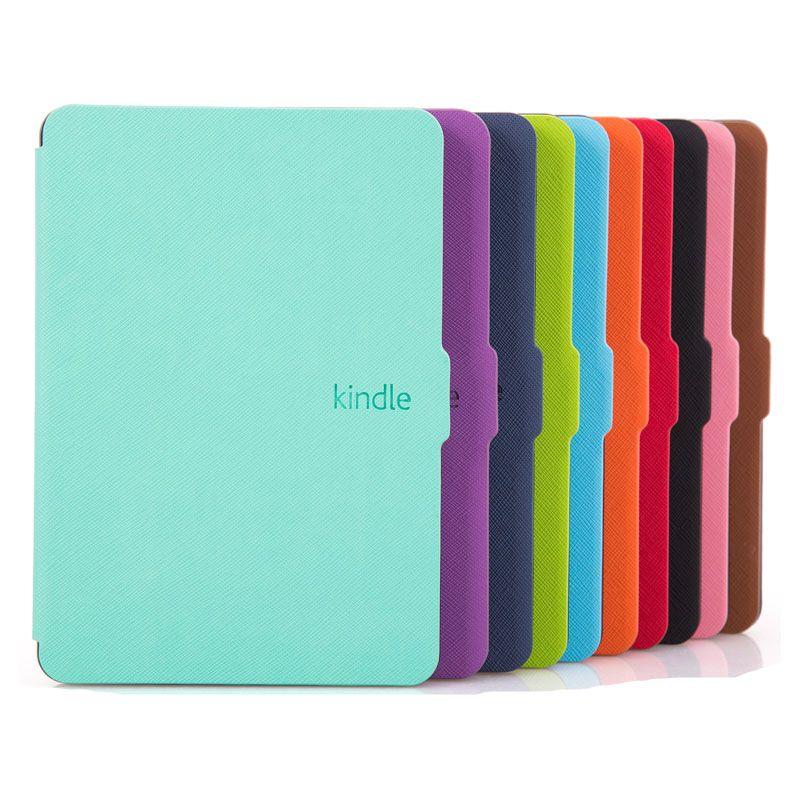 eed1c33068eca Zimoon Slim Moda Pokrywa Dla Amazon Kindle Paperwhite 1 2 3 Ereader 6   Skórzane Etui Dla Kindle Paperwhite z Screen Protector
