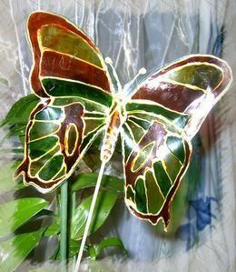 id es de papillon cr er un papillon avec une bouteille en. Black Bedroom Furniture Sets. Home Design Ideas