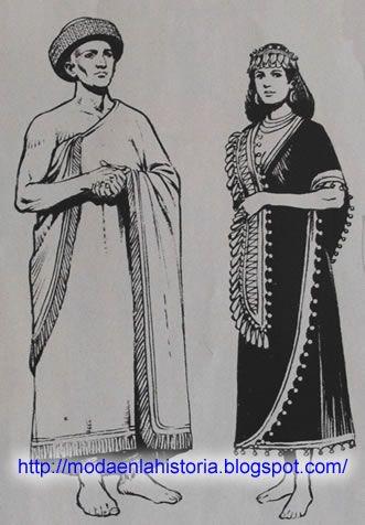 Historia De La Moda Los Sumerios Sumerios Los Sumerios Mesopotamia Vestimenta