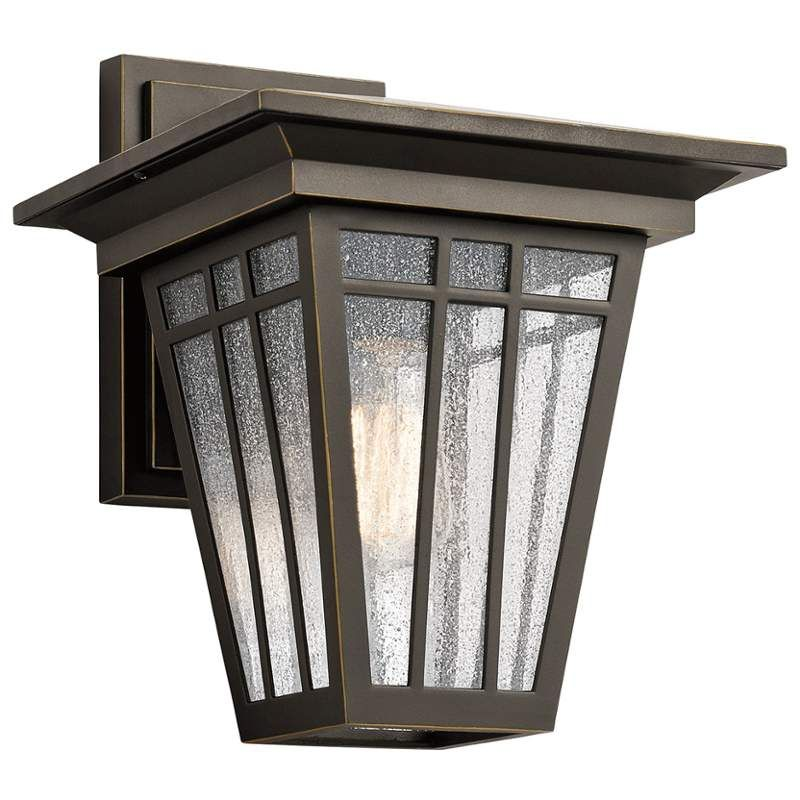 View the Kichler 49676 Woodhollow Lane 1 Light Outdoor Wall Sconce at  LightingDirect com View the Kichler 49676 Woodhollow Lane 1 Light Outdoor Wall Sconce  . Kichler Lighting Outdoor Sconce. Home Design Ideas
