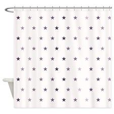 Tiny Stars Shower Curtain For